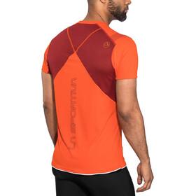 La Sportiva Blitz T-Shirt Homme, pumpkin/chili